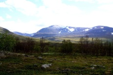 Swedish countryside near Abisko