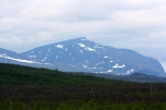 Mountain near Abisko